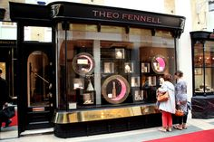 Theo Fennell jewelry by gpstudio, London store design