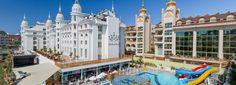 Side Royal Palace - Side Royal Palace Otel & Spa kendine özgü seçkin mimarisi ve şık atmosferi ile Akdeniz kıyılarının tüm büyüsünü bir arada sunmaktadır. Otelimiz Manavgat'ın gözde turizm merkezi Evrenseki beldesinde sahile 240 m. yürüme mesafesinde yer almaktadır.  Akdeniz …