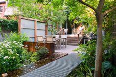 Un jardín alargado en Toronto - Jardindecora