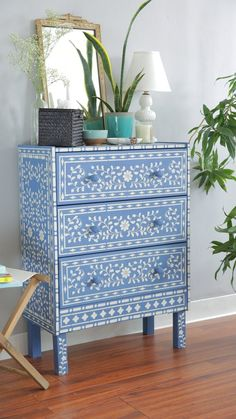 Bone Inlay Budget DIY Furniture Projects | Apartment Therapy