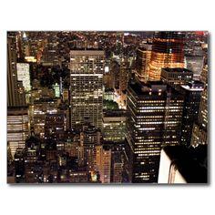 USA - New York - City Lights Cartes Postales