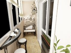 modern balcony decor | 15 Modern Balcony Design Ideas