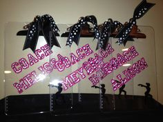 Personalized Clipboards w/Zebra for Cheer Soccer Dance by cgirard5, $12.00
