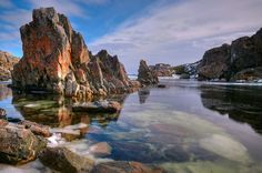 Lower Little Harbor ~ Twillingate, Newfoundland, Canada (photo by Spencer Dove, New World Island, Newfoundland). Newfoundland Canada, Newfoundland And Labrador, Oh The Places You'll Go, Places To Travel, Beautiful Islands, Beautiful Places, Gros Morne, Atlantic Canada, Atlantic Ocean