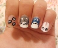 OMG. Totoro nails. Must do.