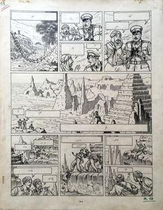 BLAKE ET MORTIMER - Le Secret de l'Espadon (Tome 1) - p 58 by Edgar Pierre Jacobs - Comic Strip