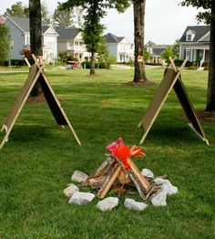 Party Idea: Camping Themed Bash Socially Circled | Apartment Therapy