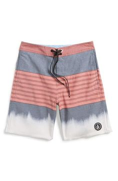 Volcom+'Threezy'+Board+Shorts+(Big+Boys)+available+at+#Nordstrom