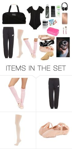 """""""What's In My Dance Bag??!!"""" by kenzieg42503 ❤ liked on Polyvore featuring art"""