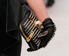 girly-girl or sassy girl, either way, I want the purse and gloves!!!