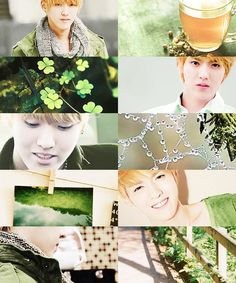 Month edit - March - EXO/Kris  Perfect for St. Patrick's day:) 3/17/2014