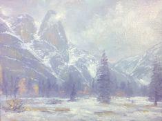 Donald Neff - Mini-Misty Sentinel, 6x8, oil on panel, $280