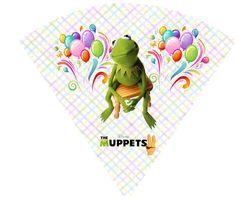 """CALLY'S  DESIGN-Kits Personalizados Gratuitos: Kit de Aniversário Digital """"Muppets"""" para Imprimir..."""