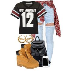 LOS ANGELES 12, created by cheerstostyle on Polyvore