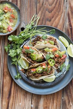 ... tacos quite like these poblano braised beef tacos. Best meat ever