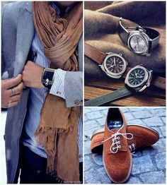 Men style - love the fall colors