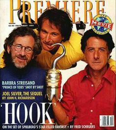Magazine photos featuring Hook on the cover. Hook magazine cover photos, back issues and newstand editions. Joel Silver, Pasadena Playhouse, Shot By Shot, Good Morning Vietnam, List Of Magazines, Rockin Robin, Hysterically Funny, Dreamworks Movies, Dustin Hoffman