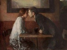 Ron Hicks, stollen kiss... that moment before a kiss