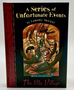 The Vile Village A Series of Unfortunate Events Lemony Snicket Book Hardback Lemony Snicket Books, A Series Of Unfortunate Events, My Ebay, Book Covers, Shop, Kids, Children, Cover Books, Store