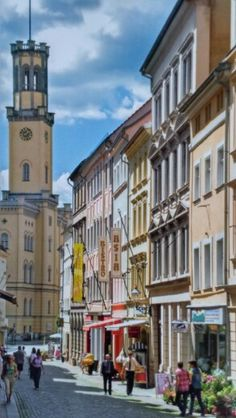 Germany - Zittau / Frauenstrasse