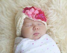 Baby Hats: baby girl hats, bling hats, marabou hat, leopard print ...