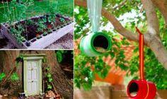 20 bricolages géniaux pour concilier jardin et petit budget