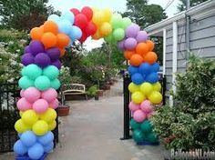 Image result for sports related balloon arches images