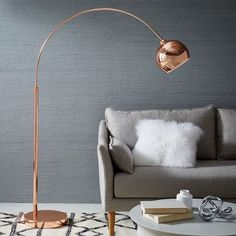 Our Lounge Floor Lamp is great from brightening up those hard-to-reach spots, without wasting valuable space.