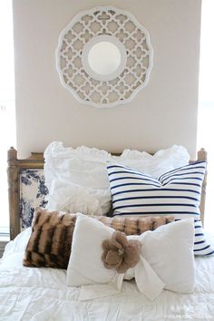 Guest Bedroom Ideas by A Blissful Nest