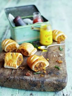 Squash, sage & chestnut rolls - Make with GF pastry