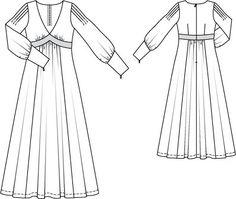 Notice sleeve pleats