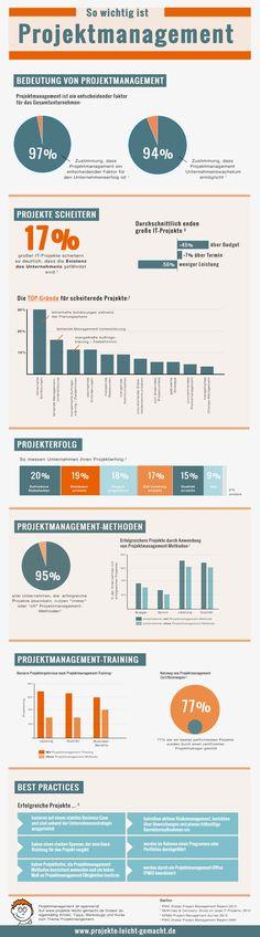 So wichtig ist Projektmanagement [Infografik] - Projekte leicht gemacht