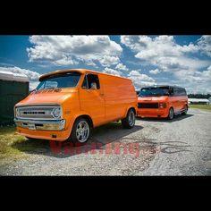 Custom Dodge Vans