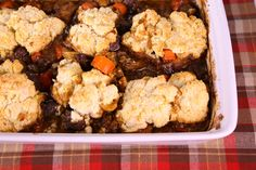 the chew | Recipe  | Curtis Stone's Steak And Mushroom Cobbler