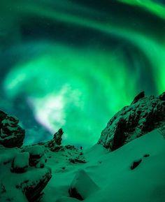Photo by @tommyeliassen  Location: Lebesby, Finnmark, Norway #ilovenorway @ilovenorway