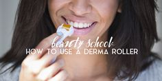 Help diminish wrinkles and rebuild collagen in your lips with a derma roller. Here's what you need to know before using one.