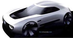 #Honda Sports EV Concept sketch #cardesign #sketch #formtrends #vehicledesign #automotivedesign #sportscar #TMS2017