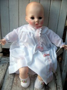 Image detail for -Vintage baby doll, Madame Alexander doll, 'Victoria', mint in box from ...