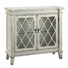Found it at Wayfair - Goshen 2 Glass Door Cabinet