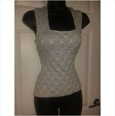 Designer KALIKO Ladies Stunning Fitted Stretch Summer Casual Top