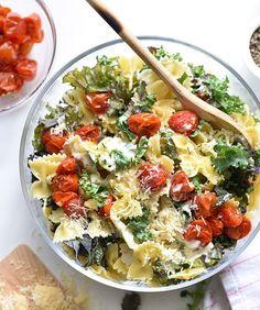 10 Noodle Salads You're Sure to Love - Kale Caesar Pasta Salad