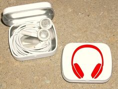 Great idea, instead of having headphones floating in my purse or gym bag.