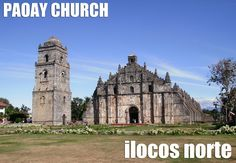 Paoay Church, Philippines