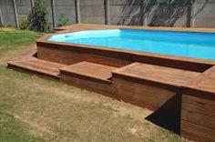 """Résultat de recherche d'images pour """"piscine hors sol bois"""""""