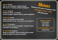 Pour la rentrée, découvrez le menu de la semaine du restaurant de l'hôtel Ibis #Luxembourg Aéroport http://www.hotel-ibis-luxembourg.com/fr/restaurant.html
