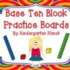 I created this so my students could have a better understanding of base ten blocks and number sense.