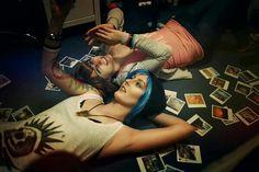 Chloe Price and Max Caulfield cosplay