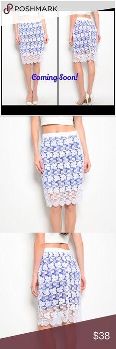 175f9ac7cae865 Royal Crochet Pencil Straight Line Skirt Boutique