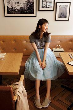佐々木希が着まわす「キレイだけどらくちん」14 days! | with 2015年4月号 | iQON(アイコン)