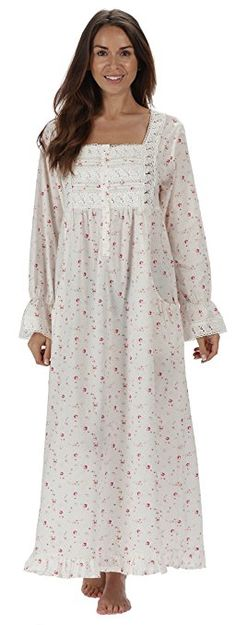 2bf1445f3 The 1 for U Cotton Nightgown - Gown With Pockets - 7 Sizes - Isabella (XXL
